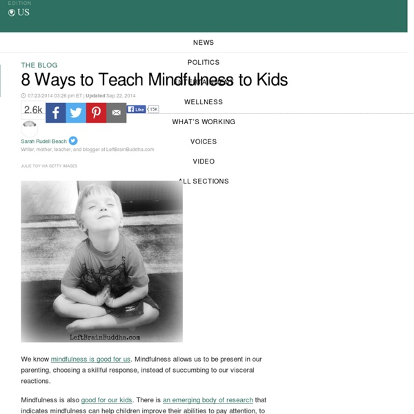 8 Ways to Teach Mindfulness to Kids