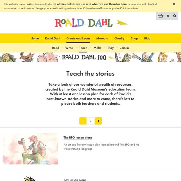 Teach the stories - Roald Dahl