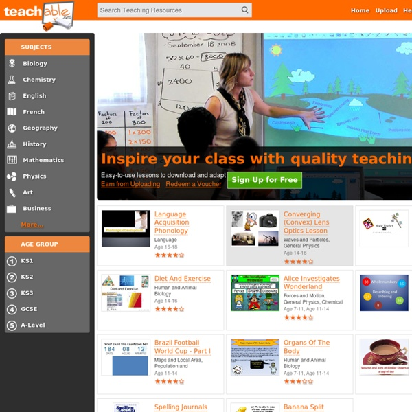 Teachable: Top Quality Teaching Resources