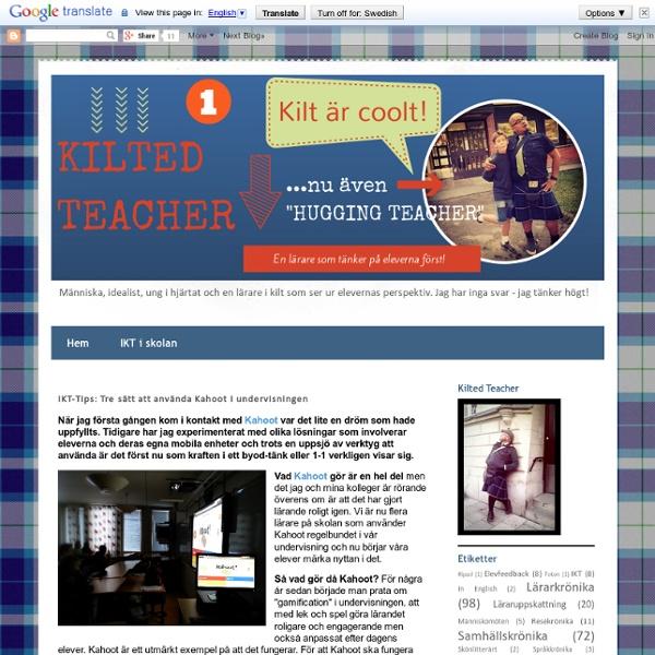 IKT-Tips: Tre sätt att använda Kahoot i undervisningen