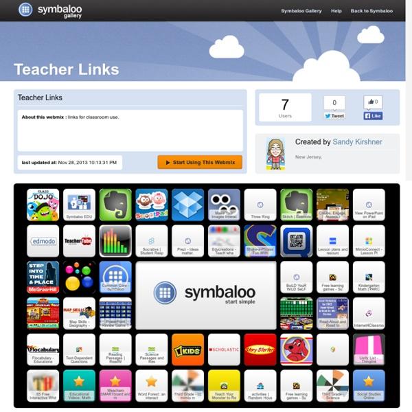 Teacher Links