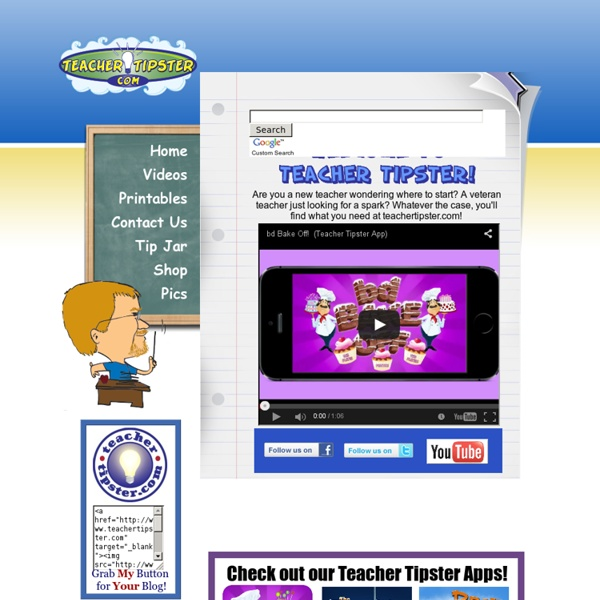 Teacher Tipster Home