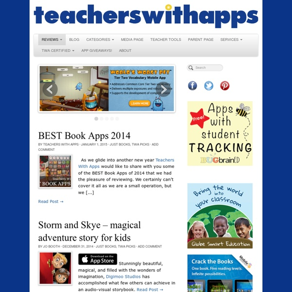 Teachers With Apps - Because Not All Apps Are Created Equal