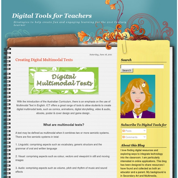 Creating Digital Multimodal Texts
