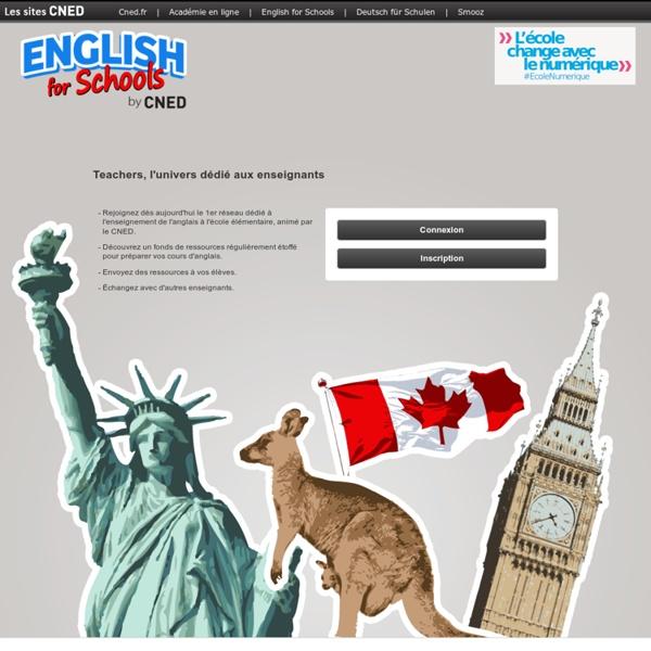 Teachers - l'univers dédié aux enseignants - English for Schools