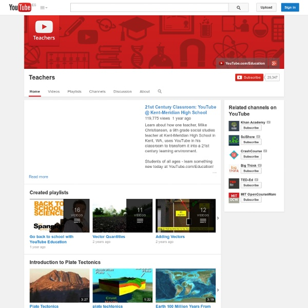 YouTube Teacher Channel