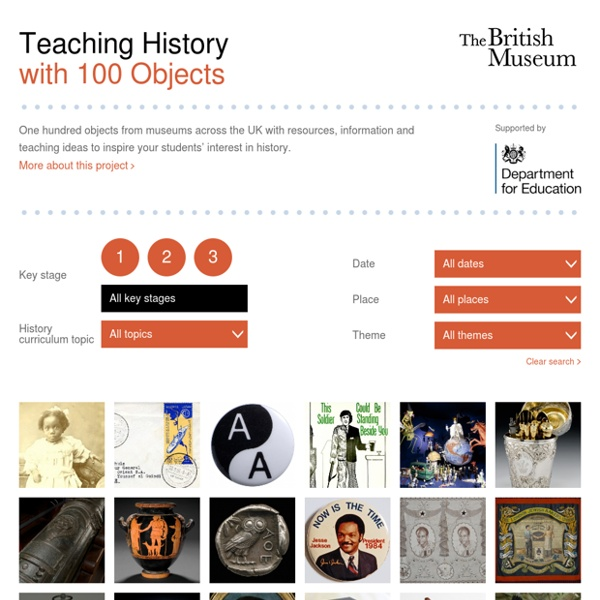 Teaching History with 100 Objects