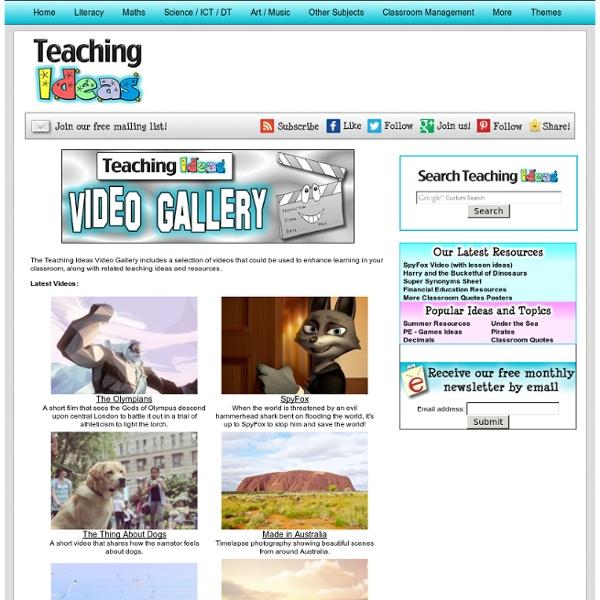 Teaching Ideas Video Gallery