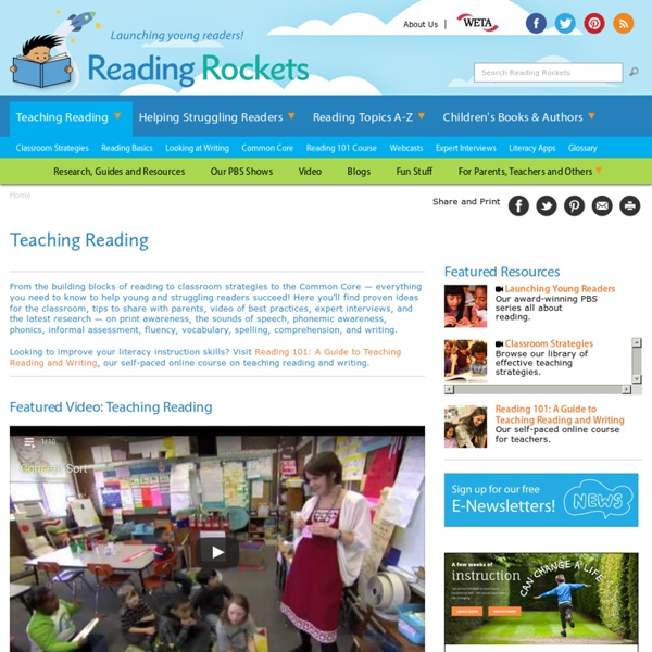 ABCs of Teaching Reading