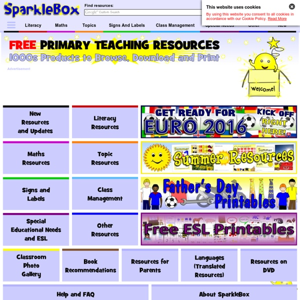 1000s FREE Primary Teaching Resources & Printables - EYFS ...