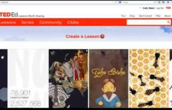3 Minute Teaching With Tech Tutorial - Create a Flipped Video Lesson with TedEd