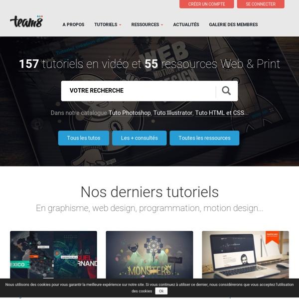 Team8 - Graphisme et Web Design