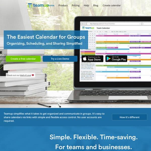 Free Shared Calendar.Teamup Calendar Free Shared Online Calendar For Groups Pearltrees