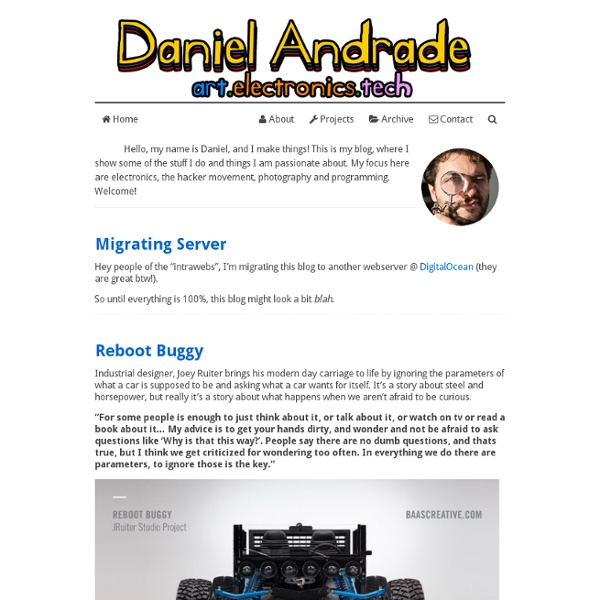 Open Hardware MoodLamp « « DanielAndrade.net DanielAndrade ...