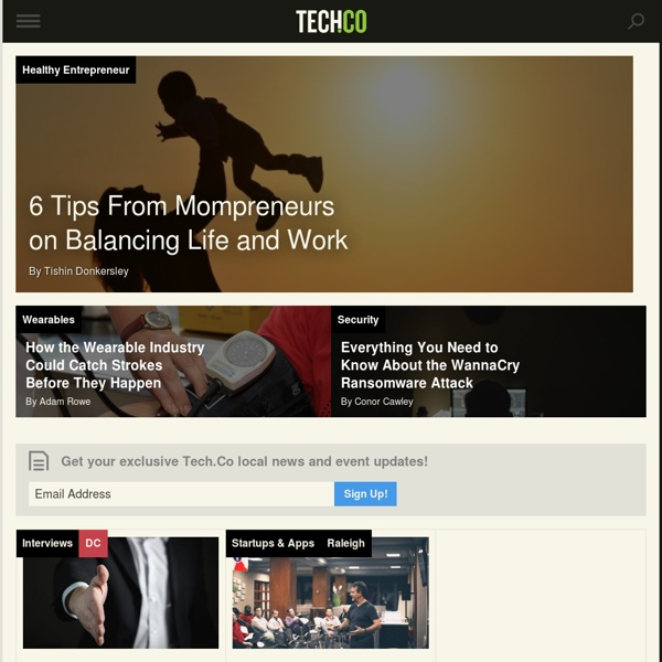 Tech.Co - Tech & Startup Events, News and Resources