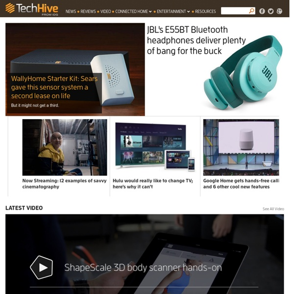 TechHive - News, tips and reviews about phones, tablets, apps, and all the other tech in your life