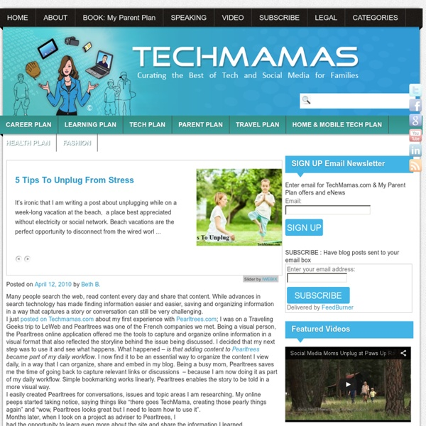 Techmamas - Curating the Best of Tech and Social Media for Families