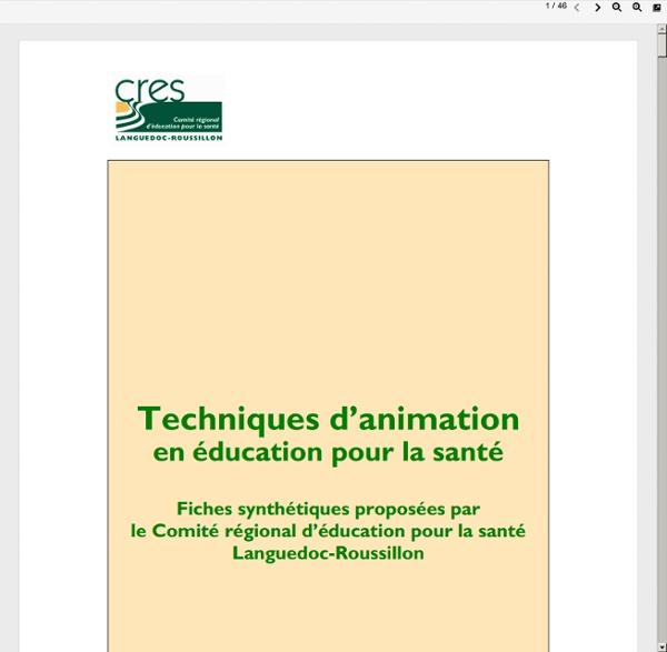 Education-sante-patient.etud.univ-montp1.fr/files/2011/05/Techniques-danimation.pdf
