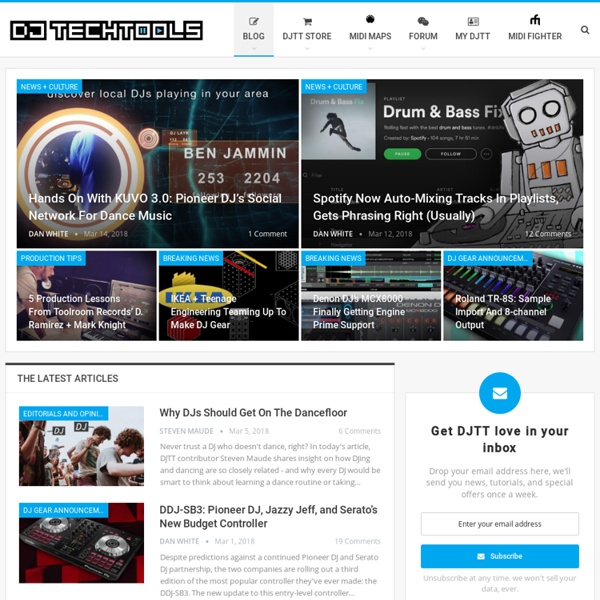 The largest community for DJ and producer techniques, tutorials, and tips. Traktor secrets, controller reviews, a massive MIDI mapping library, and more.