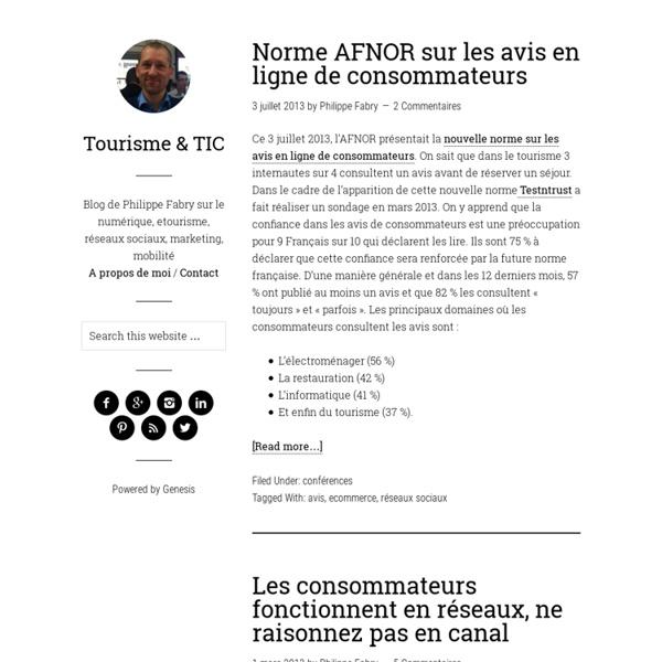 Tourisme & TIC — Technologies appliquées au Tourisme - etourisme