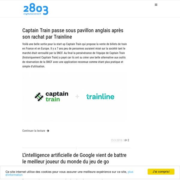 2803, le blog web 2.0, Internet et technologies