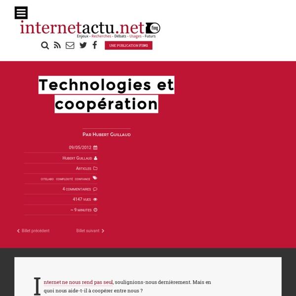 Technologies et coopération