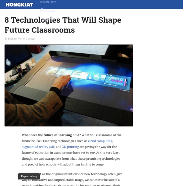 8 Technologies That Will Shape Future Classrooms