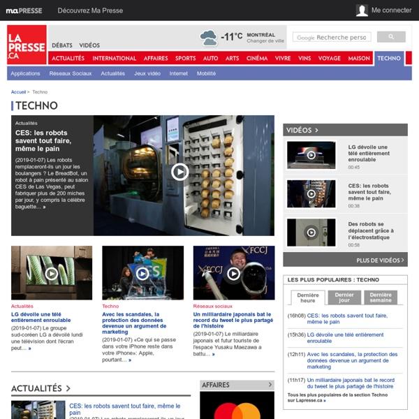 Technaute - Informatique, web, ordinateur, toile, wi