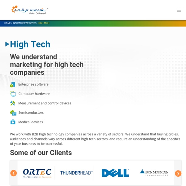 Digital Services for Technology Companies