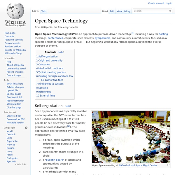WIKI: Open-space technology