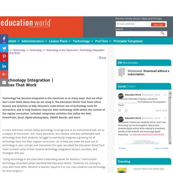 Technology Integration Ideas that Work