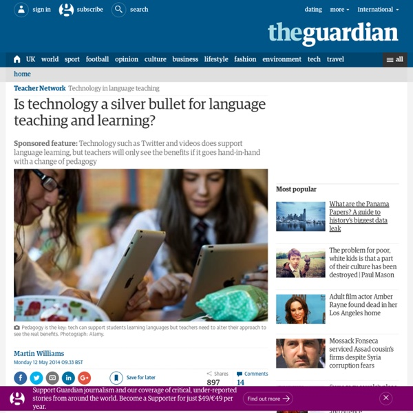 Is technology a silver bullet for language teaching and learning?