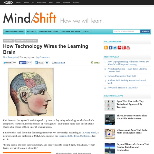 How Technology Wires the Learning Brain