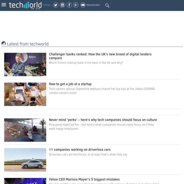 Techworld: Breaking News for Business Technology & Enterprise IT - Techworld.com
