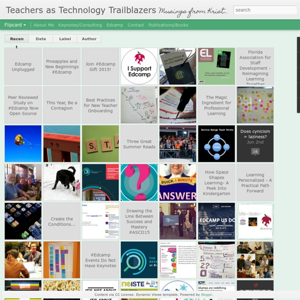 Teachers as Technology Trailblazers