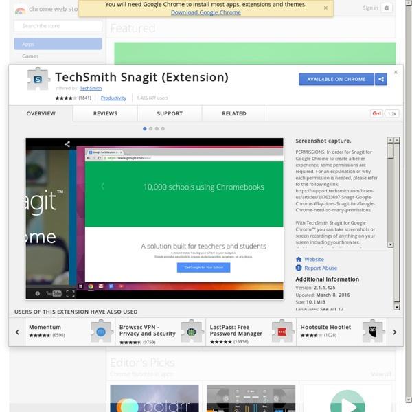 TechSmith Snagit (Extension)