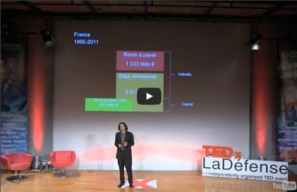 TEDxLaDéfense - Etienne Hayem - La monnaie comme lien