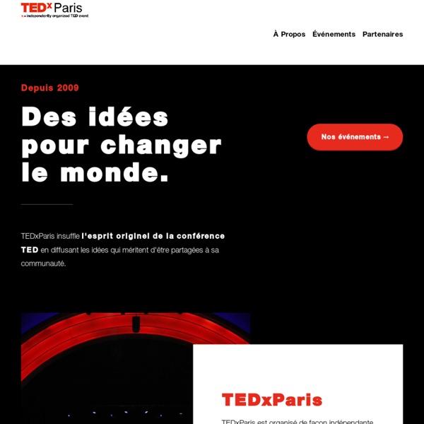 Des idées pour changer le monde.