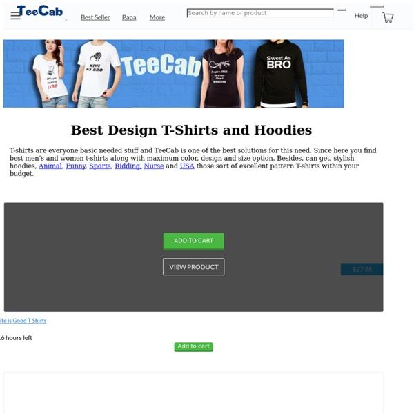 TeeCab - Best T-Shirts Brand