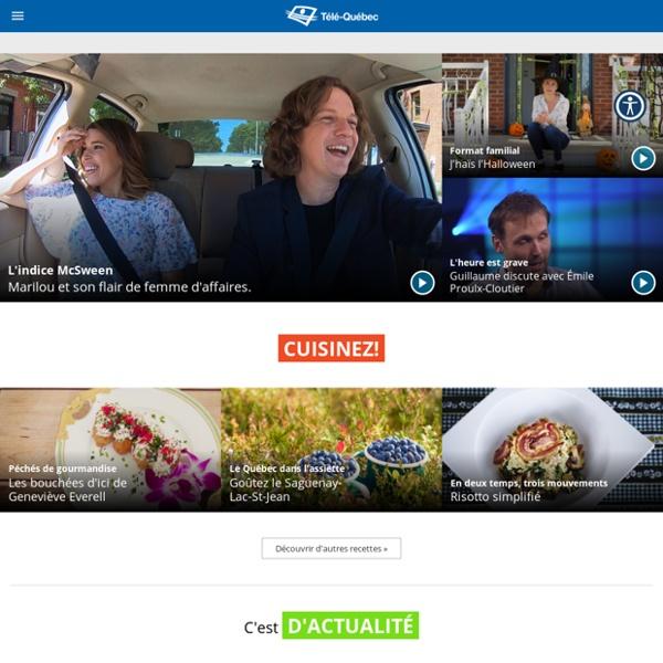 Télé-Québec: Accueil
