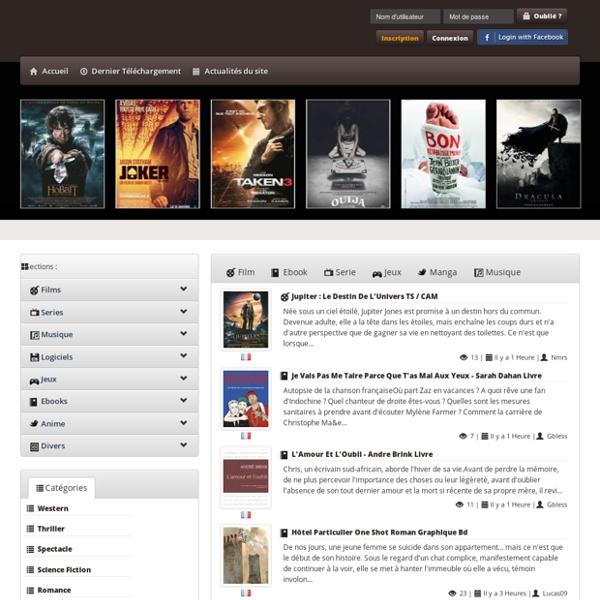 Site de Téléchargement Gratuit : Film, jeux, Serie - Mamega