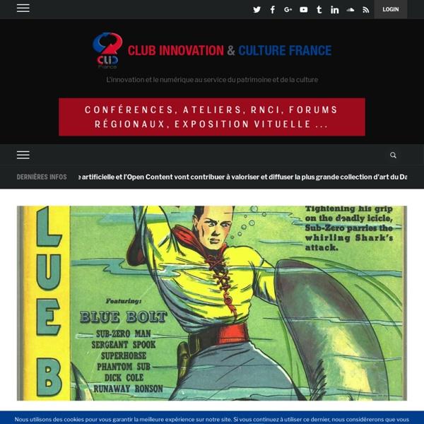 Le musée virtuel du comics américain propose 15 000 bd en téléchargement gratuit et légal