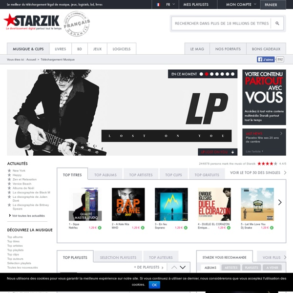 t l chargement musique mp3 et clips sur starzik pearltrees. Black Bedroom Furniture Sets. Home Design Ideas