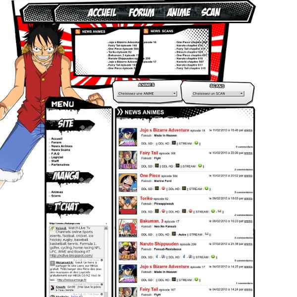 Erems Web - Mangas et scans en téléchargements, streaming et lecture en ligne