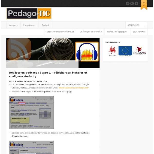Réaliser un podcast : étape 1 – Télécharger, installer et configurer Audacity