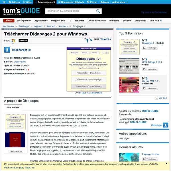 Télécharger Didapages 2