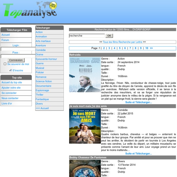 Telecharger DvDrip French