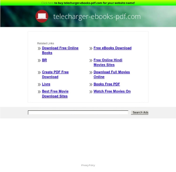 Téléchargement légal des livres,scan,series,journaux et magazines en PDF