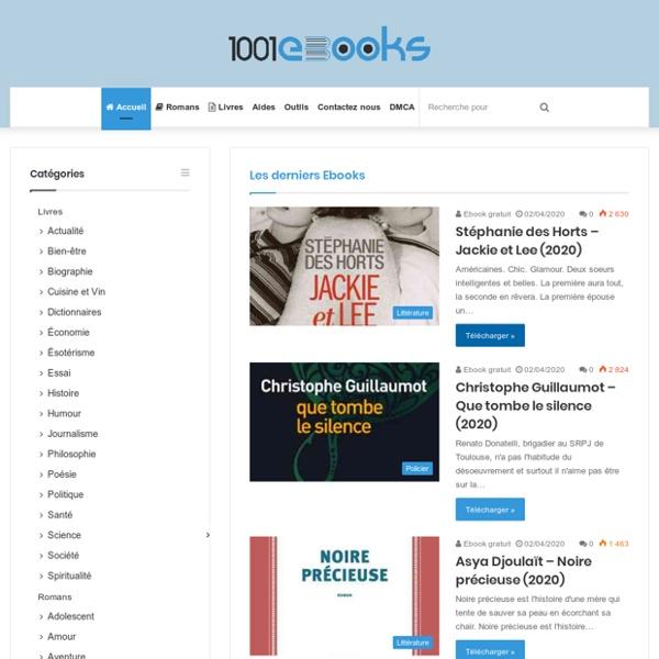 Télécharger Ebook, Livres, Romans en EPUB et PDF gratuit - 1001Ebooks