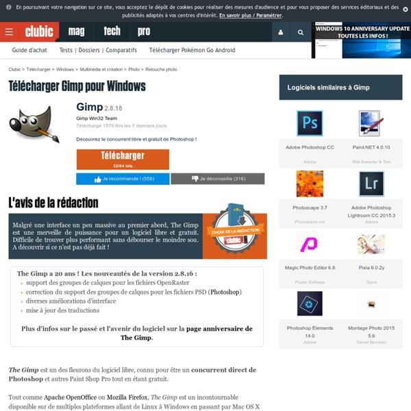 Télécharger The Gimp : gratuit